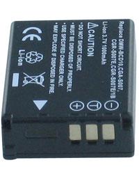 Batterie pour PANASONIC LUMIX DMC-TZ1EB-S