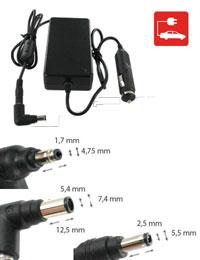 Chargeur pour COMPAQ TABLET PC TC1000-470045-236, Allume-cigare